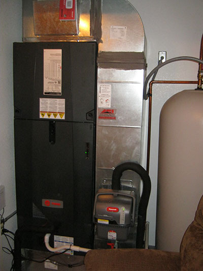 Trane Air Handler & Humidifier