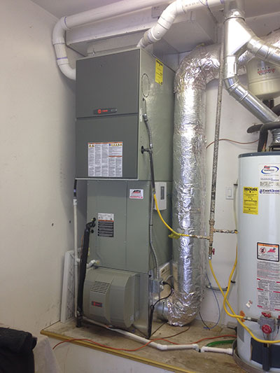 Trane Furnace & Humidifier